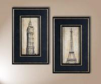 Big Ben, Eiffel Tower