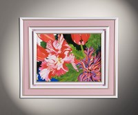 Flowers, Lanscapes and abstract watercolors 5
