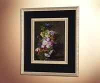 Натюрморт с цветами и насекомыми