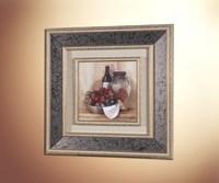 Тосканский стол (стеклянное паспарту) 1