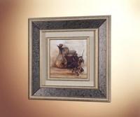 Тосканский стол (стеклянное паспарту) 2